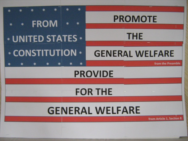Provide for the General Welfare, Photo